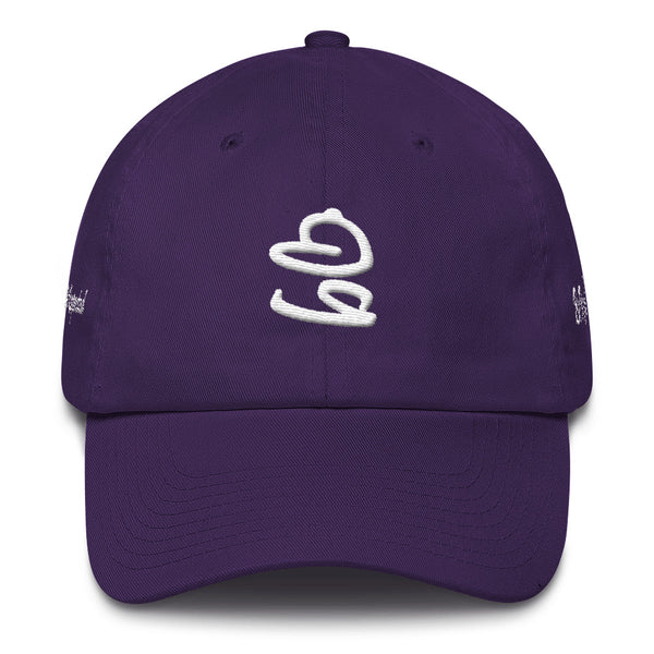 bb Logo On The Side Cotton Dad Hat