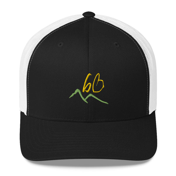bb Mountains Trucker Hat
