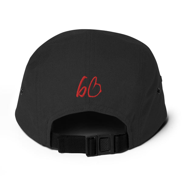 Upside Down Triangle Bryans Bros Logo Five Panel Hat