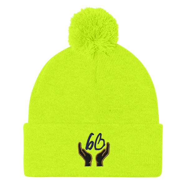 bb In Good Hands Pom-Pom Beanie