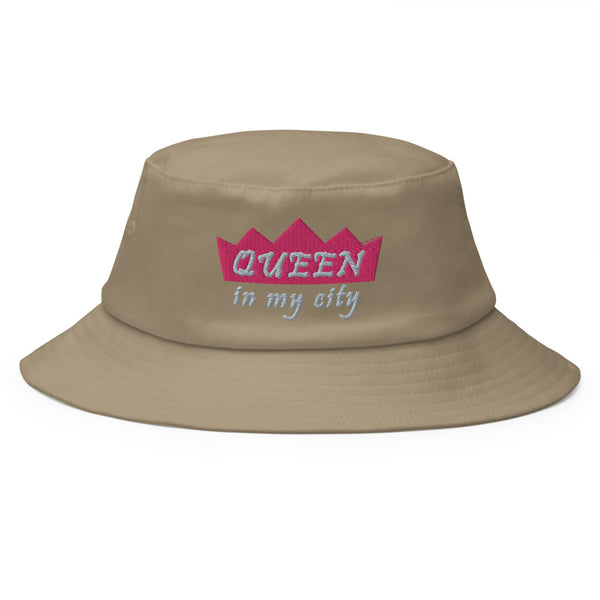 Queen In My City Old School Bucket Hat