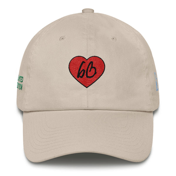 bb Heart Logo Limited Edition Cotton Dad Hat
