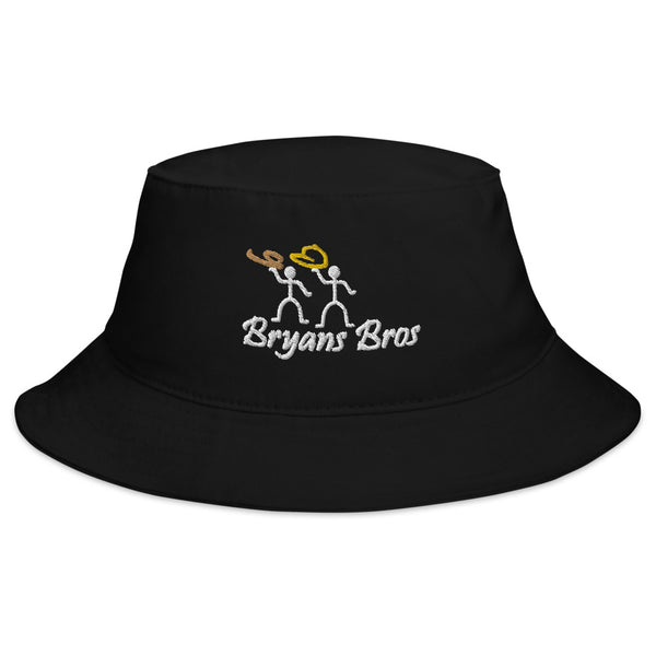 Bryans Bros Stickmen Logo Bucket Hat