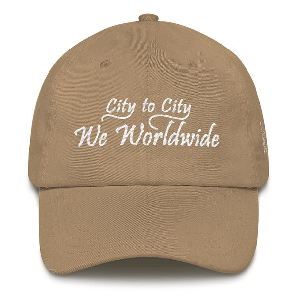 City To City We Worldwide Dad Hat