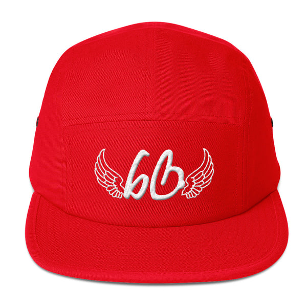 bb With Angel Wings Five Panel Hat
