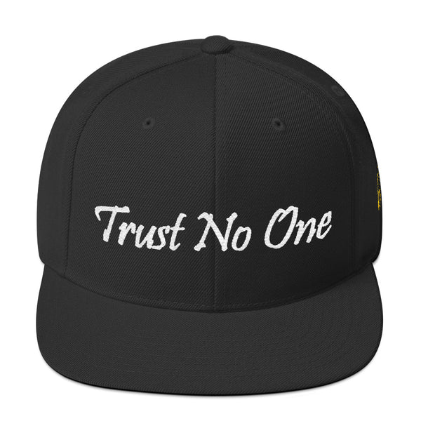 Trust No One Snapback Hat