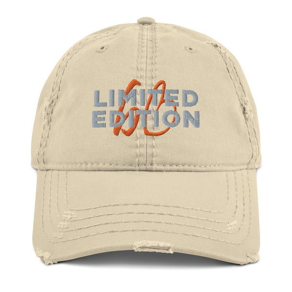 Limited Edition bb Logo Distressed Dad Hat