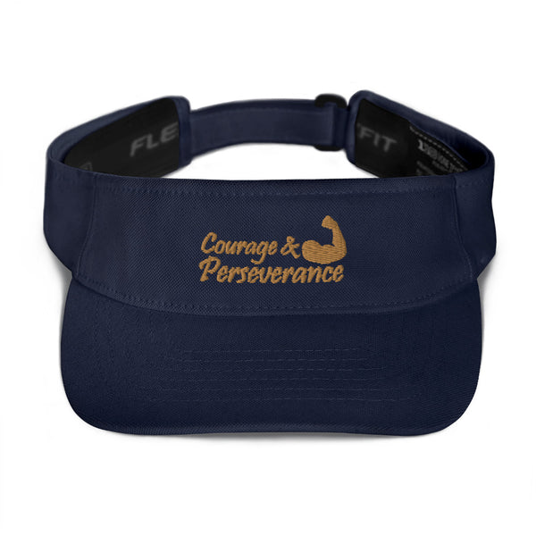 Courage & Perseverance FlexFit Visor