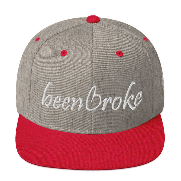 Been Broke Snapback Hat