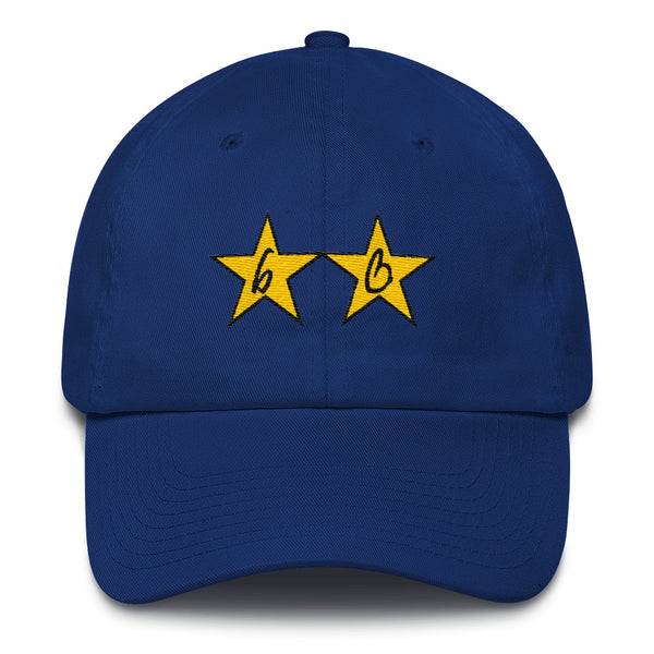 bb Gold Stars Cotton Dad Hats