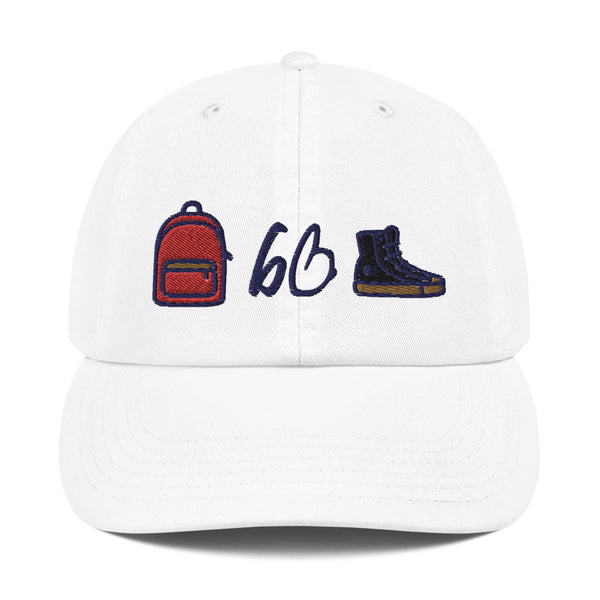 The bb Starter Pack X Champion Dad Hat