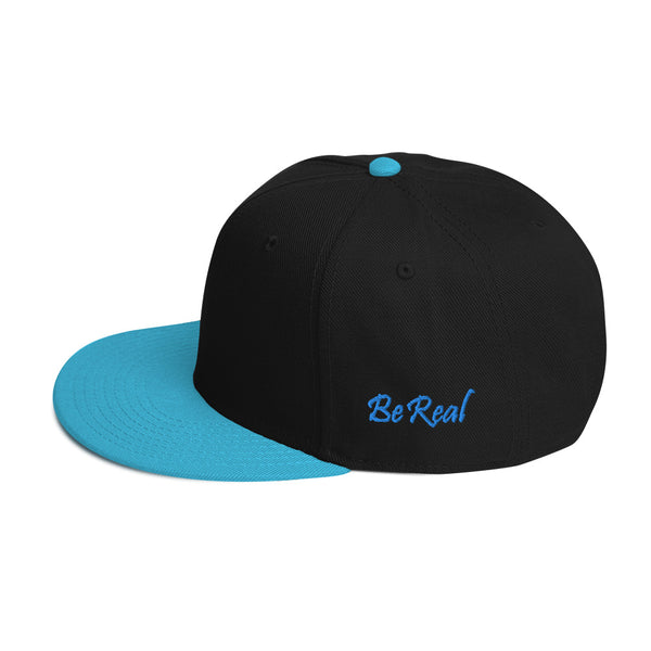 Small bb In Brackets Snapback Hat