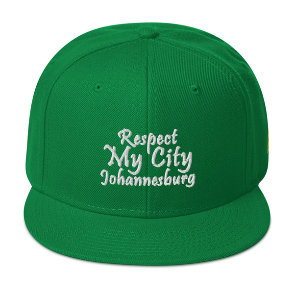 Respect My City Johannesburg Snapback Hat