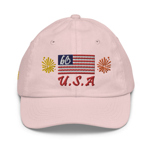 bb Banner Logo Youth baseball Hat