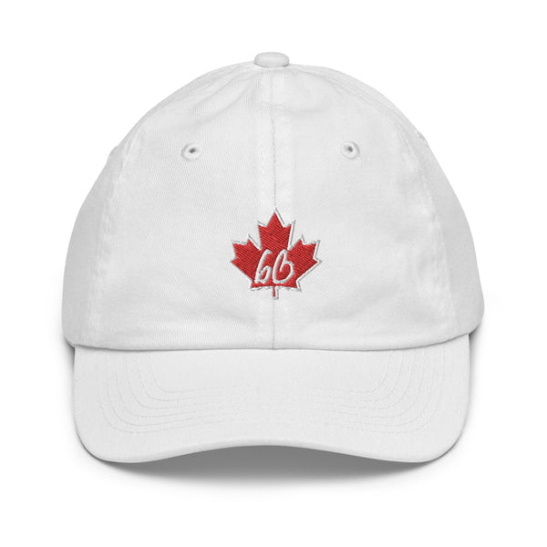 bb In A Maple Leaf Youth baseball Hat
