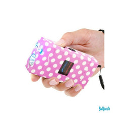 25 Million Volt Rechargeable Stun Gun With LED Light and Disable Pin Pink