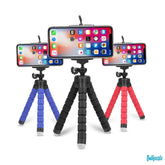 Mini Flexible Sponge Octopus Tripod for iPhone and Samsung
