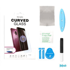 Full Adhesive Curved Edge Glass Protector For Galaxy Note 10