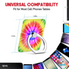 Rainbow Tie Dye Universal Cell Phone 360° Rotation Ring Holder Stand