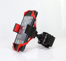 Bicycle Phone Holder with Silicone Rope
