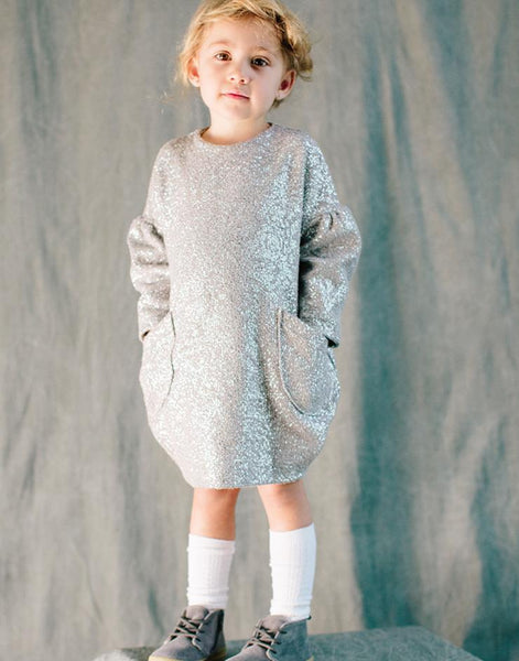 Bubble Dress in Sparkle