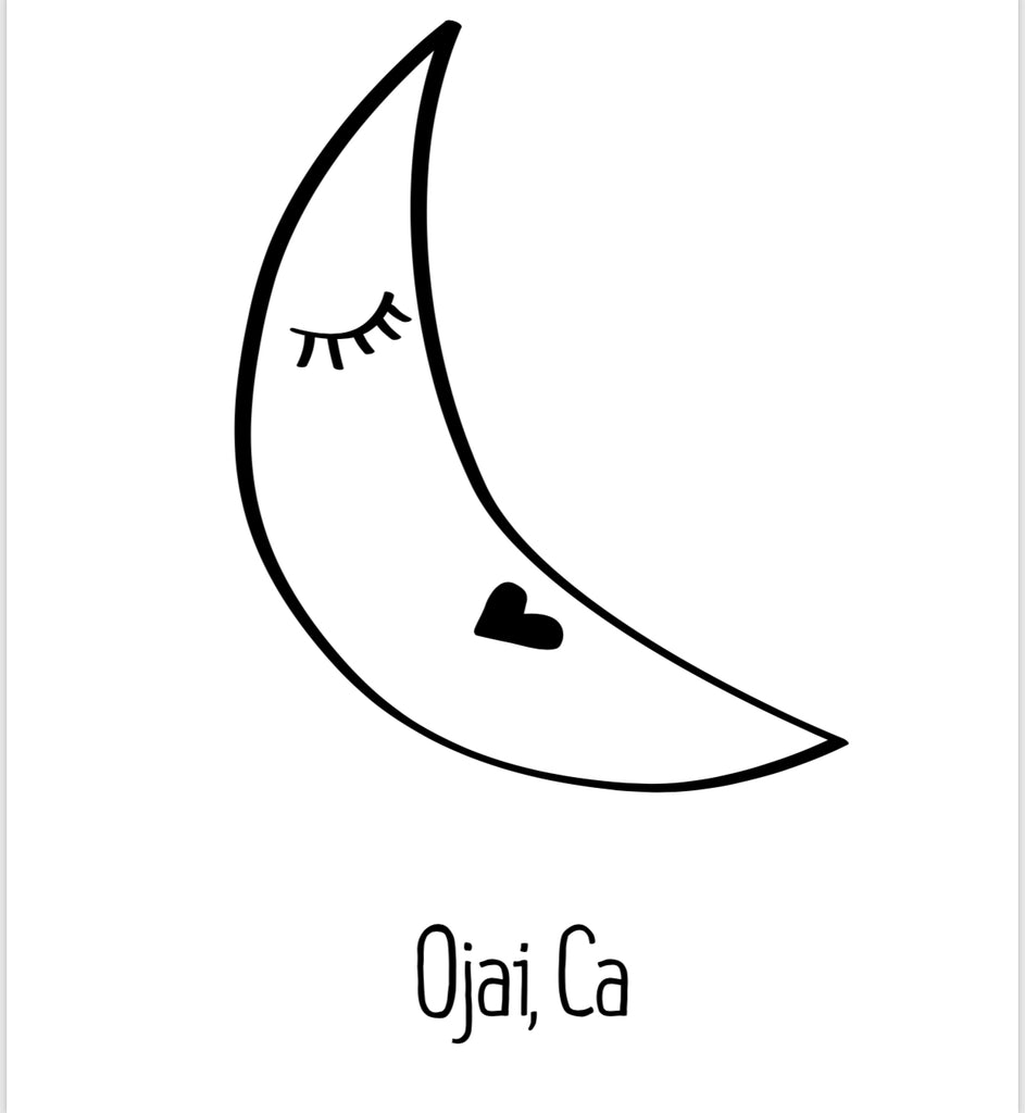 Ojai Moon Card Set (set of 6)