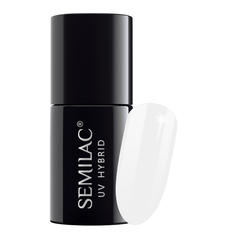 Semilac 001 Strong White UV Gel Polish 7 ml