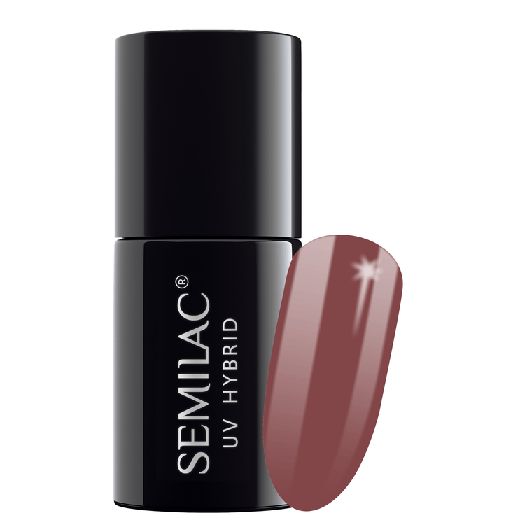 Semilac 005 Berry Nude UV Polish Gel 7 ml