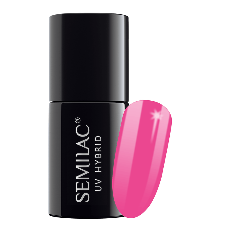 Semilac 008 Intensive Pink UV Gel Polish 7 ml