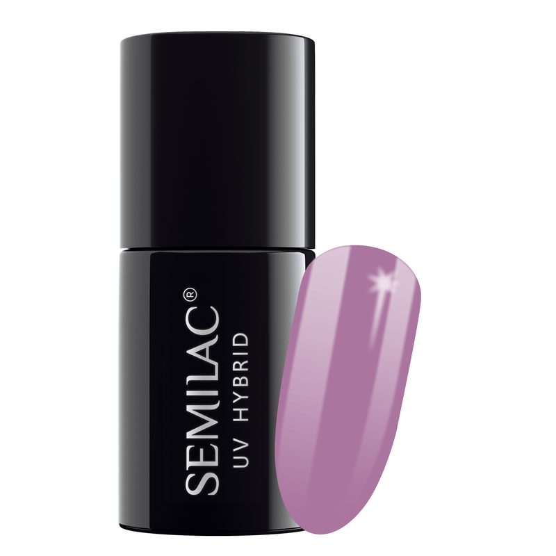Semilac 010 Pink & Violet UV Gel Polish 7 ml - FlowertushBeauty