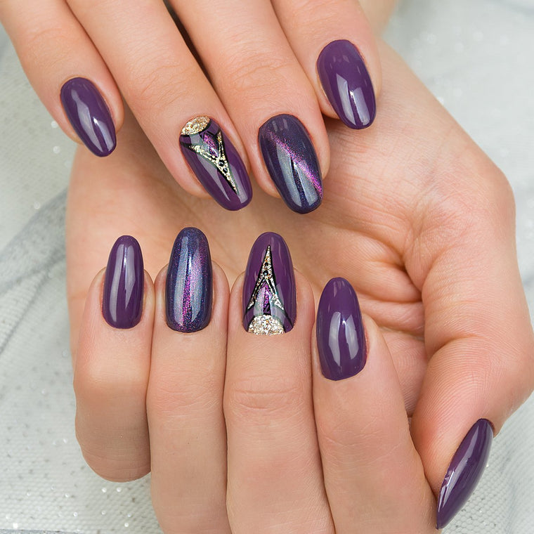 Semilac 014 Dark Violet Dream UV Gel 7 ml