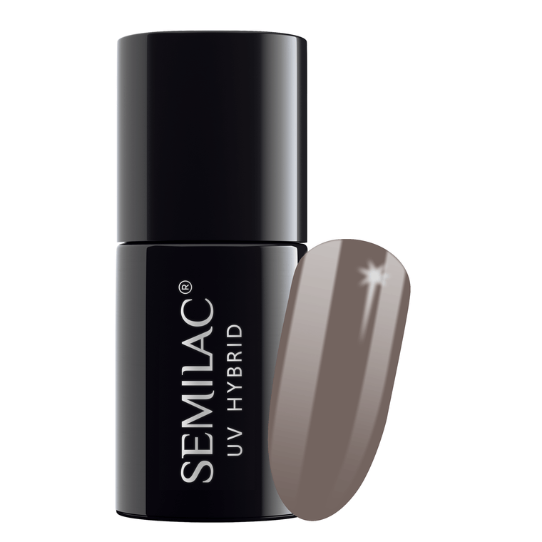 Semilac 017 Grey UV Gel Polish Polish 7 ml