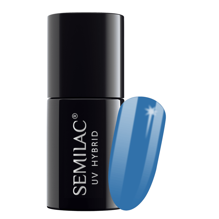 Semilac 019 Blue Lagoon UV Gel Polish 7 ml