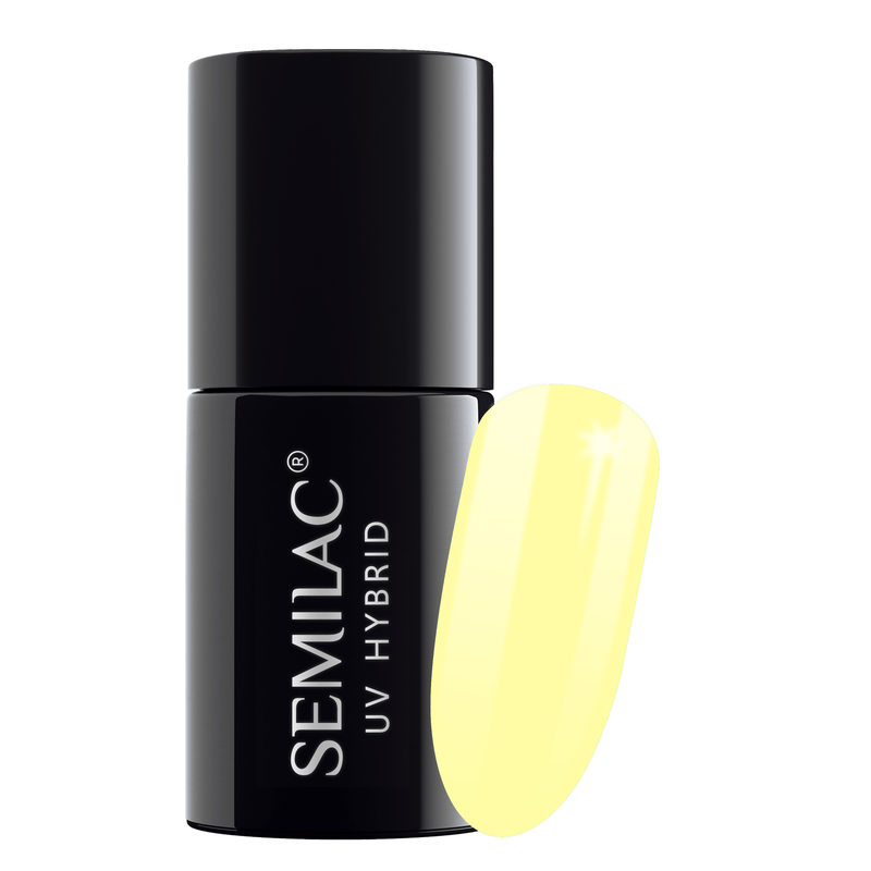 Semilac 023 Banana UV Gel Polish 7 ml - FlowertushBeauty