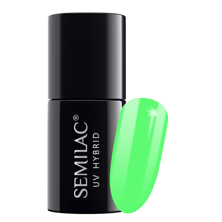 Semilac 041 Caribbean Green UV Gel Polish 7 ml