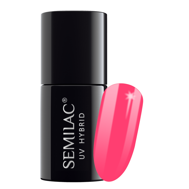 Semilac 042 Neon Raspberry UV Gel Polish 7 ml