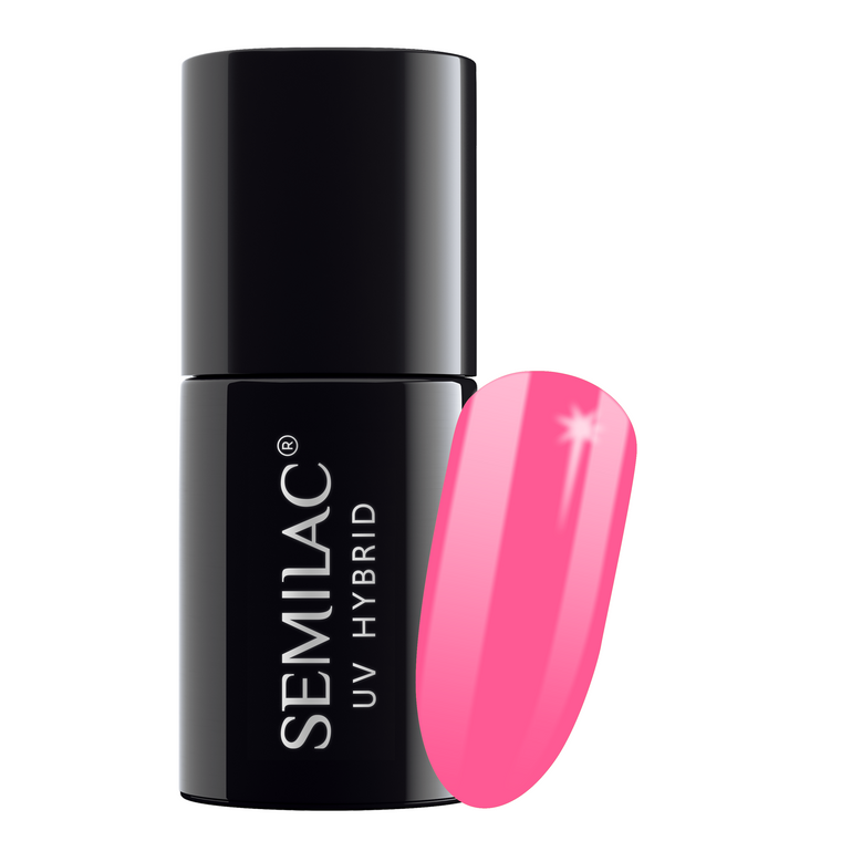 Semilac 043 Electric Pink UV Gel Polish 7 ml