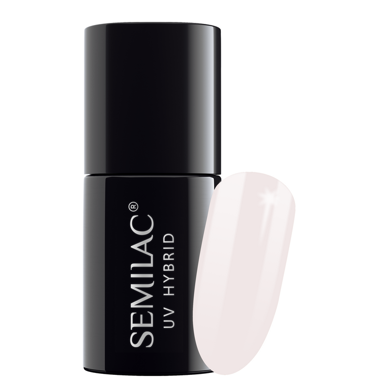Semilac 051 French Beige Milk UV Gel Polish 7 ml - FlowertushBeauty