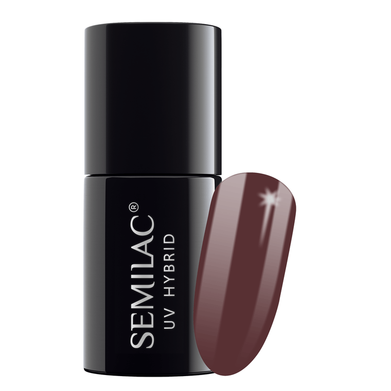 Semilac 075 Stylish Brown UV Gel Polish 7 ml