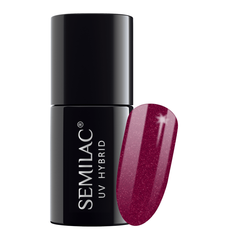 Semilac 098 Elegant Cherry UV Gel Polish 7 ml