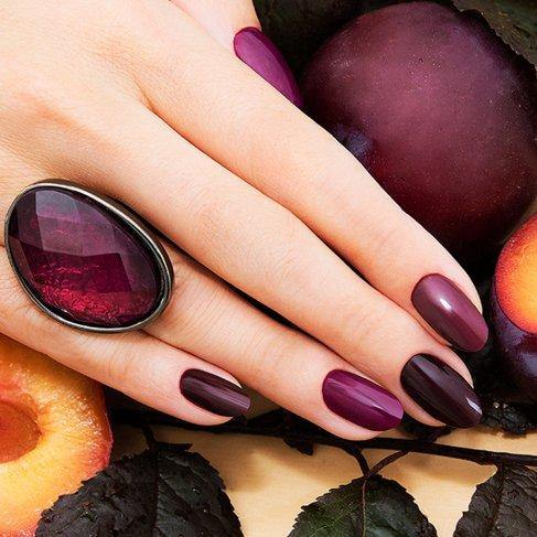 Semilac 099 Dark Purple Wine UV Gel Polish 7 ml