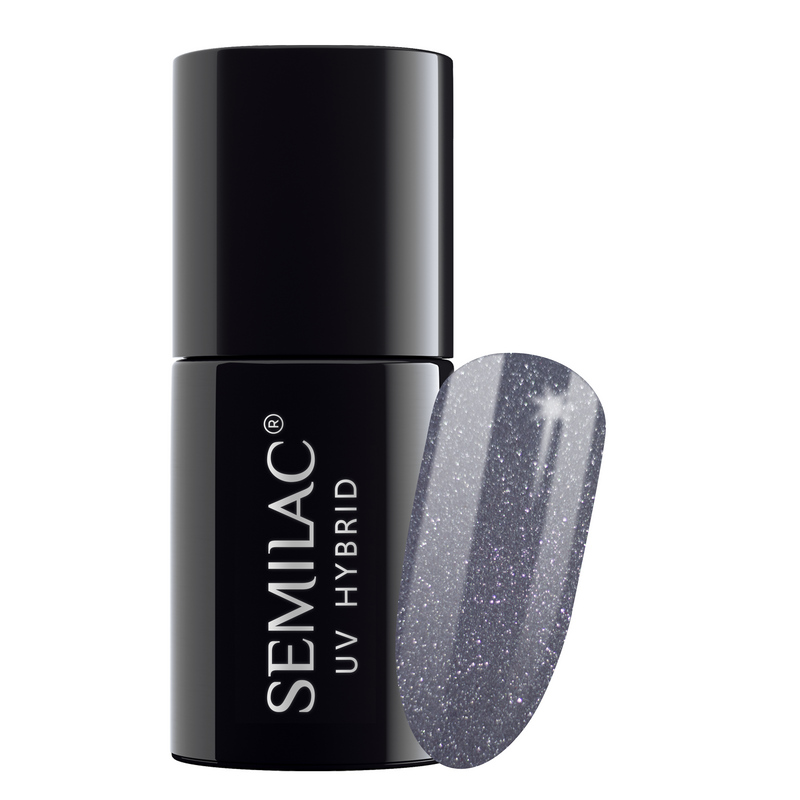 Semilac 107 Steel Grey UV Gel Polish 7 ml