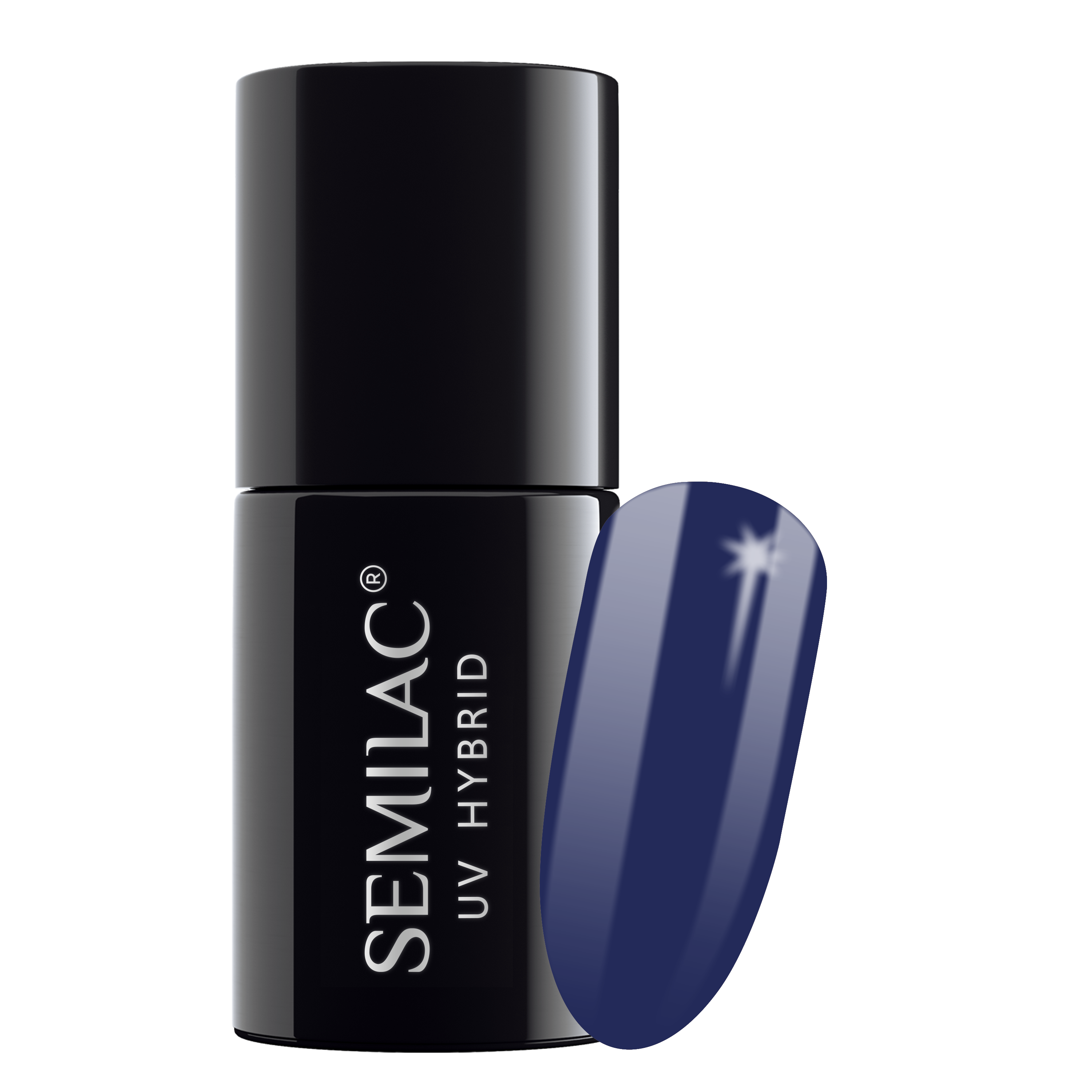 Semilac 126 Queen Of the Night UV Gel Polish 7 ml - FlowertushBeauty