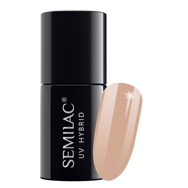 Semilac 137 Cinnamon Coffee UV Gel Polish 7 ml