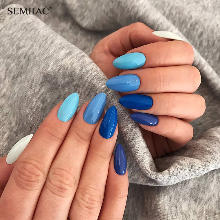 Semilac 019 Blue Lagoon UV Gel Polish 7 ml - FlowertushBeauty