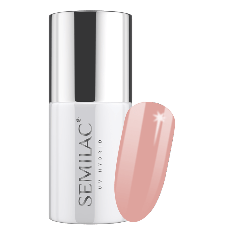 Semilac 190 Powder Beige UV Gel Polish 7 ml - FlowertushBeauty