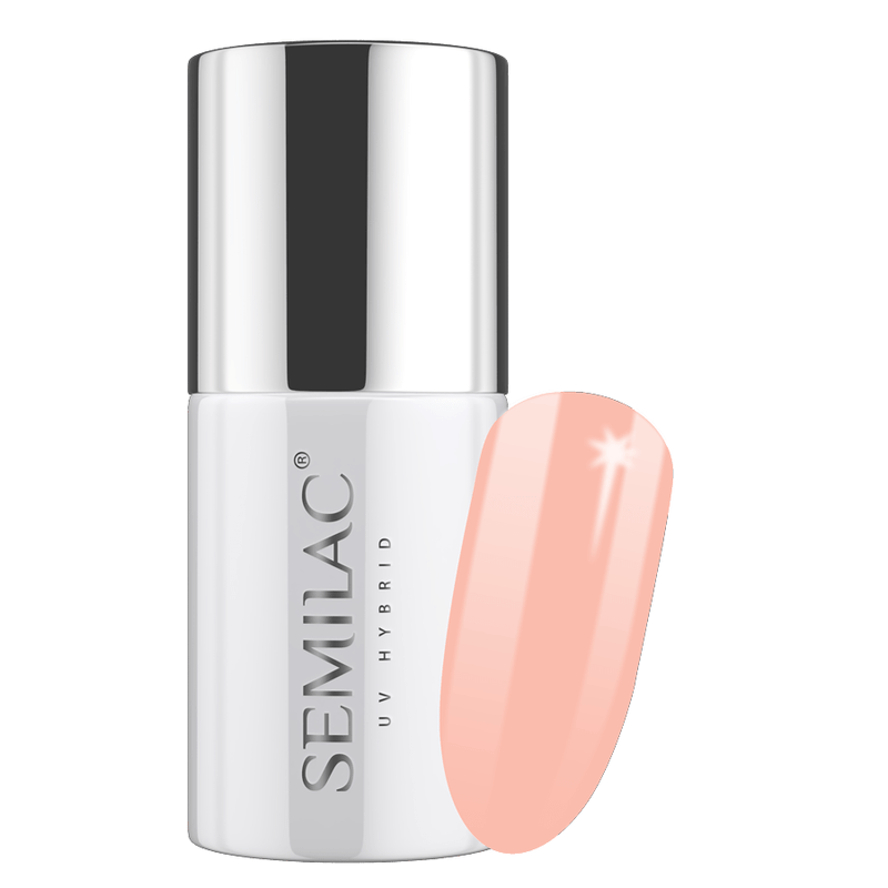 Semilac 196 Total Nude UV Gel Polish 7 ml - FlowertushBeauty