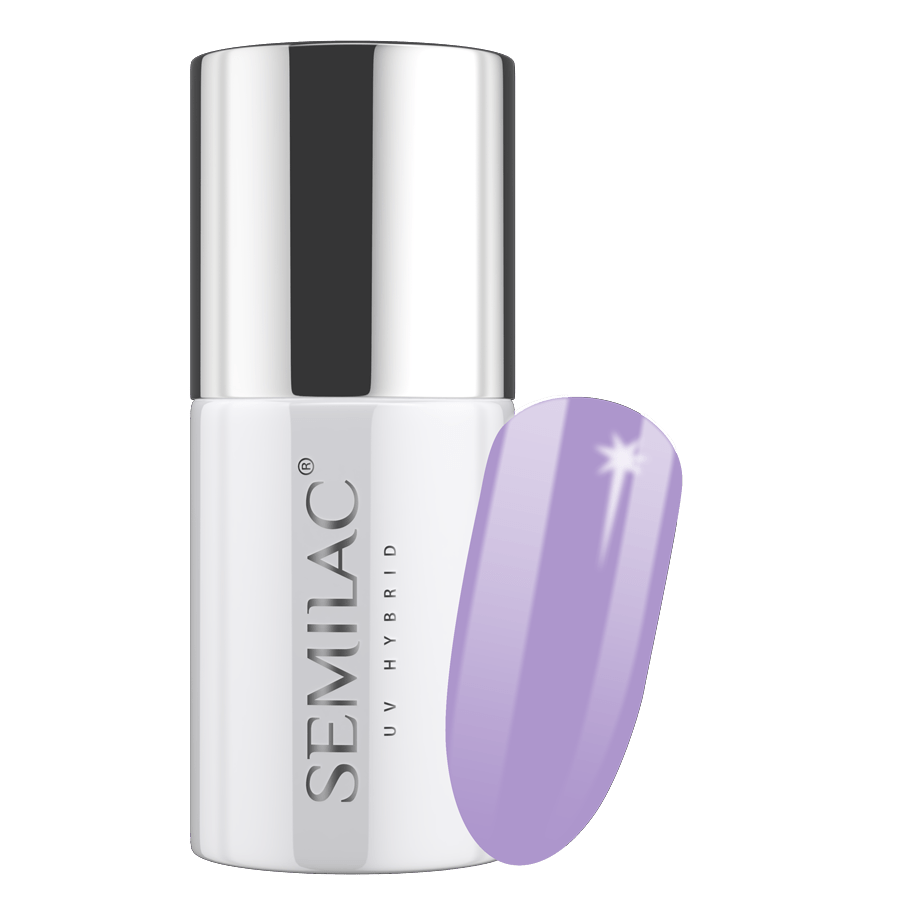Semilac 204 Lila Grey UV Gel Polish 7 ml - FlowertushBeauty