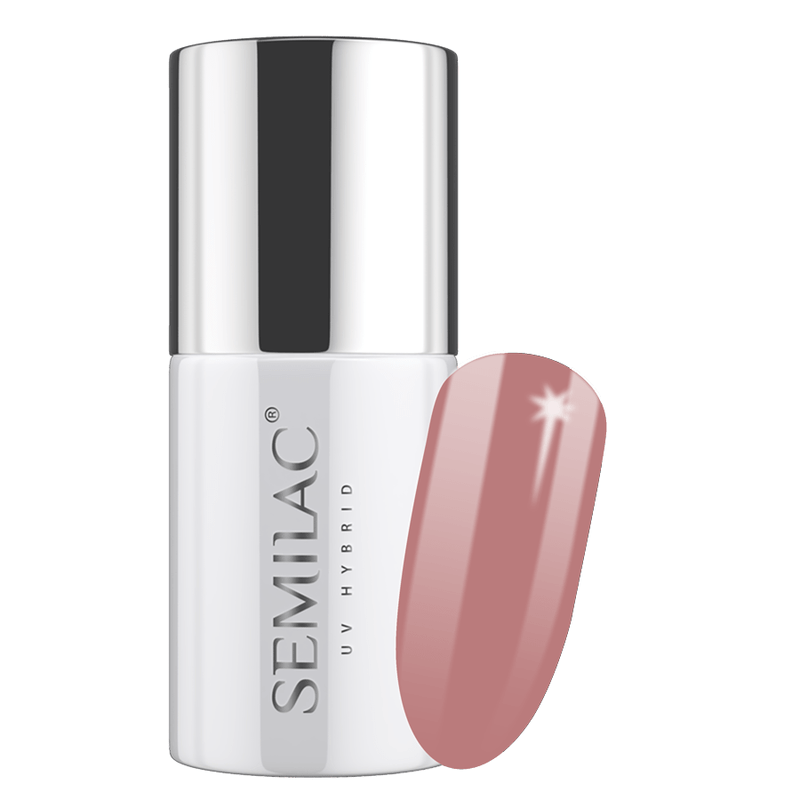 Semilac 213 Nude Red UV Gel Polish 7 ml - FlowertushBeauty
