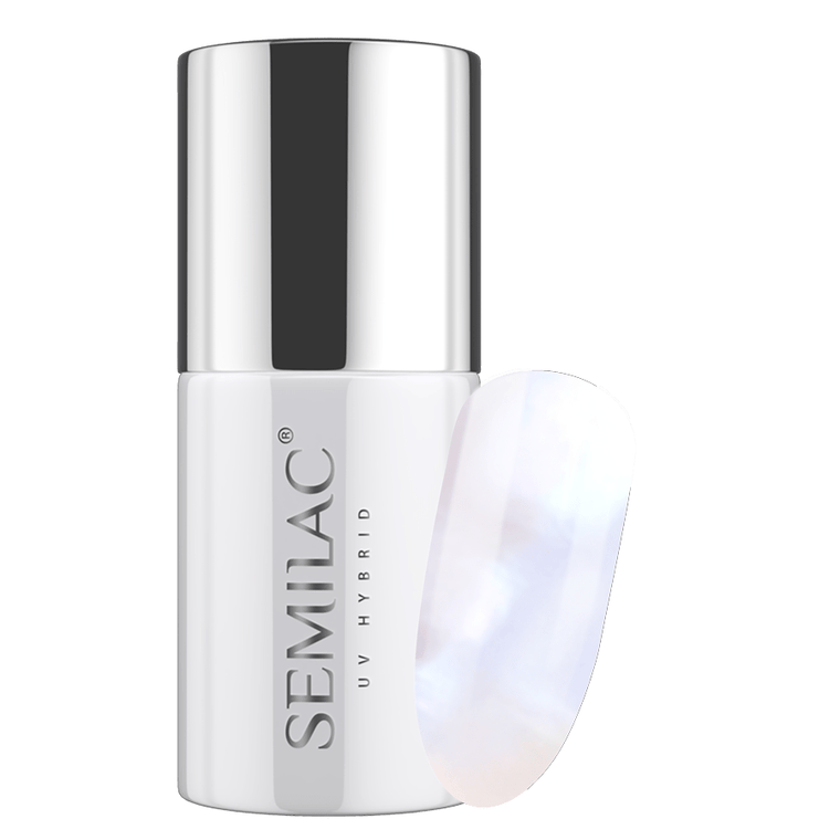 Semilac 217 Pearl White UV Gel Polish 7 ml